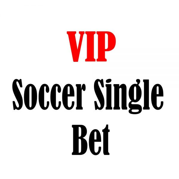 vip soccer single bet