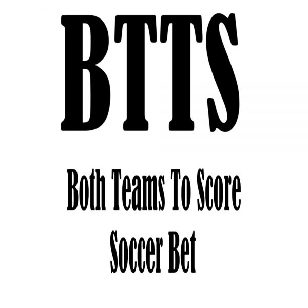 Btts soccer bet